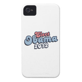 ELECT PRESIDENT OBAMA -.png iPhone 4 Case-Mate Cases