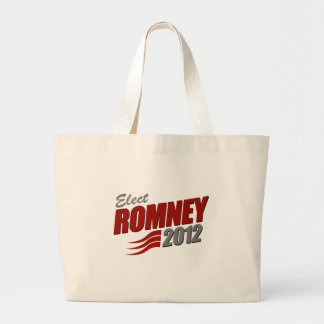 Elect ROMNEY Canvas Bags
