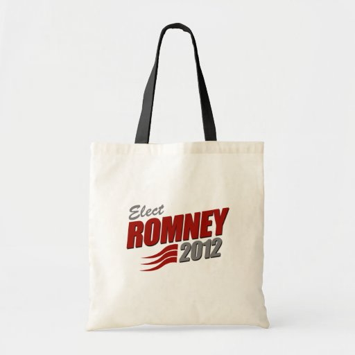 Elect ROMNEY Canvas Bag