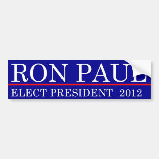 Elect Ron Paul 2012 Bumper Sticker