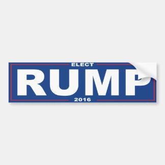 Elect Rump 2016 - Bumper Sticker