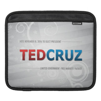Elect Ted Cruz 2016 iPad Sleeve