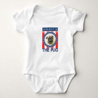Elect The Pug Baby Bodysuit