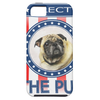 Elect The Pug iPhone 5 Covers