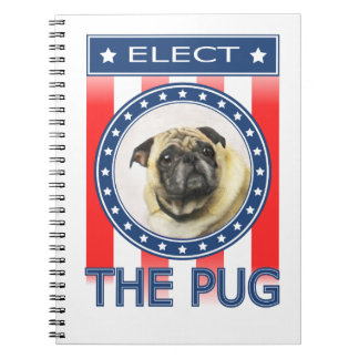 Elect The Pug Notebook