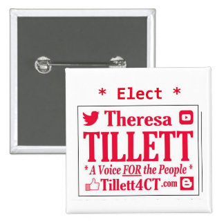 Elect Tillett Square Button