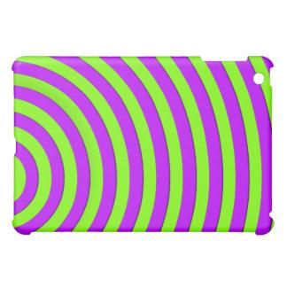 electic green and bright purple iPad mini cases