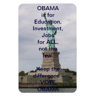 Election 2012 - OBAMA & Statue of Liberty Magnet