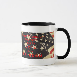 Election 2016  Vote for Freedom Coffee Mug