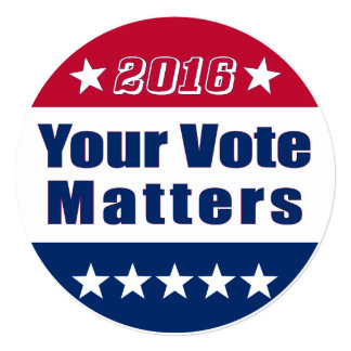 Election 2016 | Your Vote Matters Card