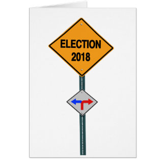 election 2018 card