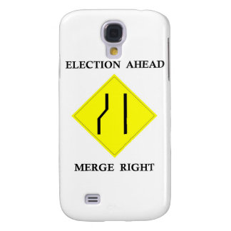 Election Ahead Merge Right