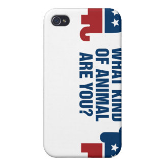Election animals iPhone 4/4S cases