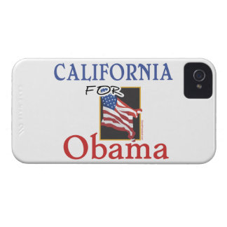 Election California for Obama iPhone 4 Case-Mate Cases