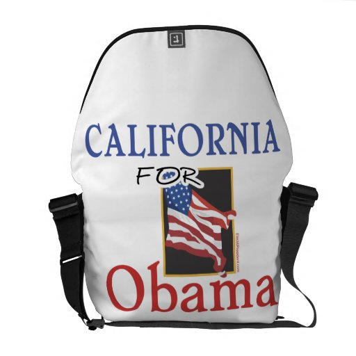 Election California for Obama Commuter Bag