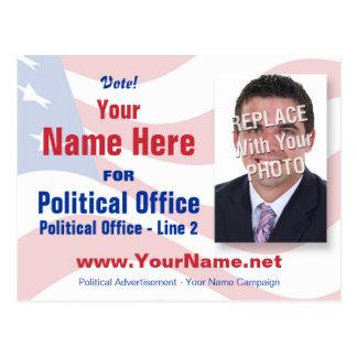 Election Campaign Postcard - Non-Partisan
