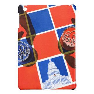 Election Checkerboard iPad Mini Cover