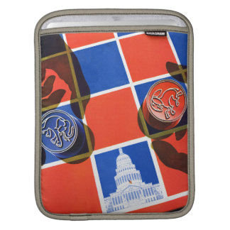 Election Checkerboard iPad Sleeve