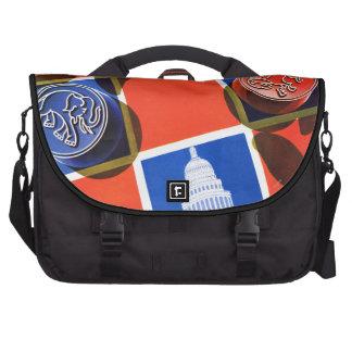 Election Checkerboard Computer Bag