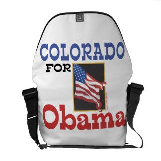 Election Colorado for Obama Courier Bags
