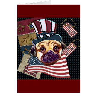 ELECTION PUG CARD