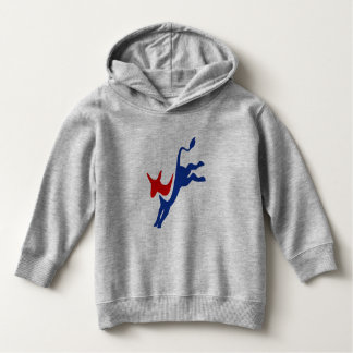 Election Vote Democrat Party Stars Stripes USA Hoodie
