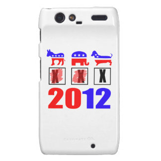 Elections are for the dogs! motorola droid RAZR case