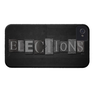 Elections iPhone 4 Case-Mate Cases