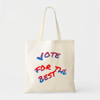 Elections, Vote for the best Tote Bag