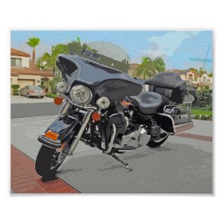 Electra Glide Poster Art