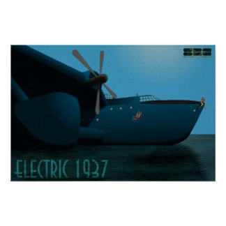 "Electric 1937 ""Big Jane"" Pin Up Poster"