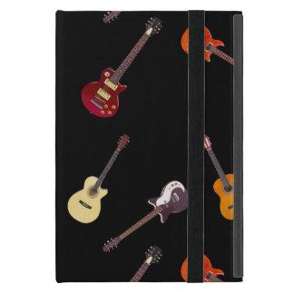Electric & Acoustic Guitar Collage iPad Mini Case