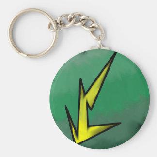 Electric Affinity Single Sided Keychain
