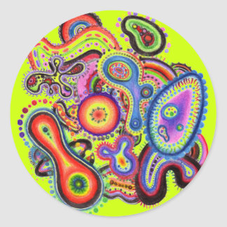 """Electric Amoeba"" Sticker"
