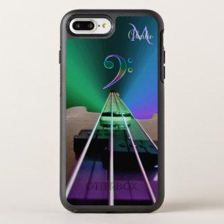 Electric Bass Guitar Colorful Monogram OtterBox Symmetry iPhone 8 Plus/7 Plus Case