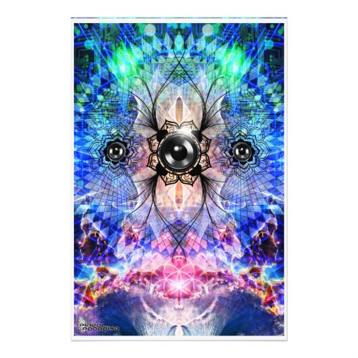 Electric Bass Vortex Photo Art