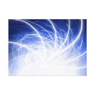 Electric Beams - Canvas Print