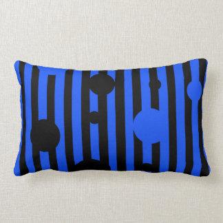 Electric Black Lumbar Pillow