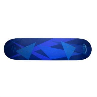 Electric Blue Brattle Bored Skateboard