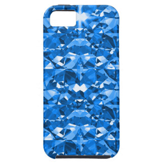 Electric Blue Diamonds Case For The iPhone 5