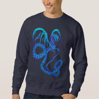 Electric Blue Dragon Shirts