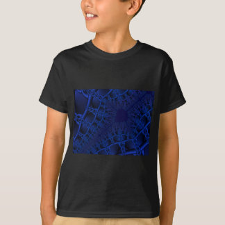 Electric Blue fractal T-Shirt