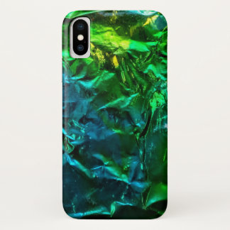 Electric Blue, Green, and Yellow Phone Case