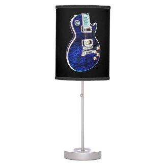 Electric Blue Lamp