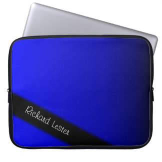 Electric Blue Laptop Sleeve