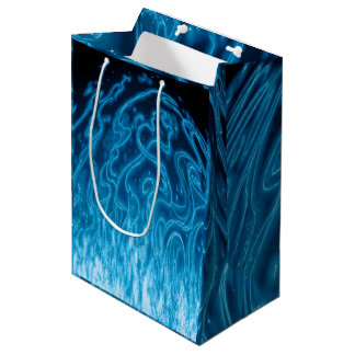 Electric Blue Medium Gift Bag