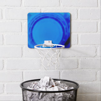 Electric Blue Mini Basket Ball Goal Mini Basketball Hoop