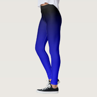 Electric Blue Slimming Leggings
