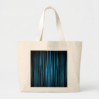 ELECTRIC BLUE TILE (an abstract art design) ~ Jumbo Tote Bag