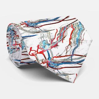 Electric Burst  Design Tie